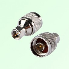 RF Adapter F Male Plug to N Male Plug