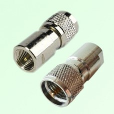 RF Adapter FME Male Plug to Mini UHF Male Plug