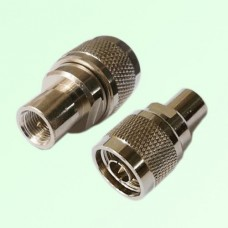RF Adapter FME Male Plug to N Male Plug