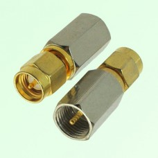 RF Adapter FME Male Plug to SMA Male Plug