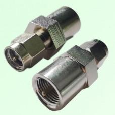 RF Adapter FME Male Plug to SMA Male Plug