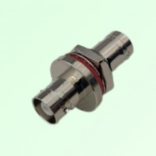 Bulkhead MHV 3KV Female Jack to MHV 3KV Female Jack Adapter