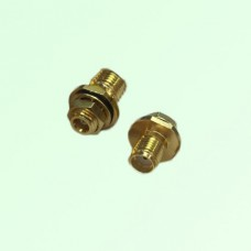 RF Adapter MCX Bulkhead Female to SMA Female Jack