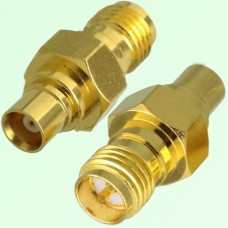 RF Adapter MCX Female Jack to RP SMA Female Jack