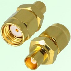 RF Adapter MCX Female Jack to RP SMA Male Plug