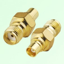 RF Adapter MCX Female Jack to SMA Female Jack
