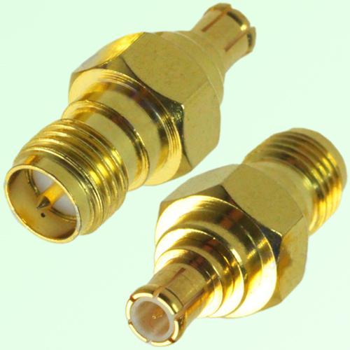 RF Adapter MCX Male Plug to RP SMA Female Jack