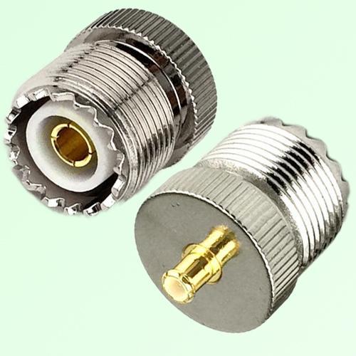 RF Adapter MCX Male Plug to UHF SO239 Female Jack
