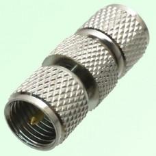 RF Adapter Mini UHF Male Plug to Mini UHF Male Plug