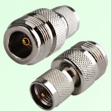 RF Adapter Mini UHF Male Plug to N Female Jack