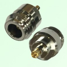 RF Adapter MMCX Female Jack to N Female Jack