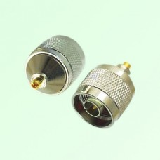 RF Adapter MMCX Female Jack to N Male Plug