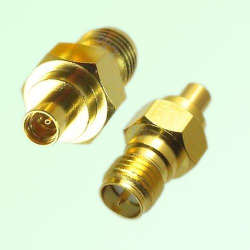 RF Adapter MMCX Female Jack to RP SMA Female Jack