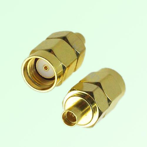 RF Adapter MMCX Female Jack to RP SMA Male Plug