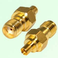RF Adapter MMCX Female Jack to SMA Female Jack
