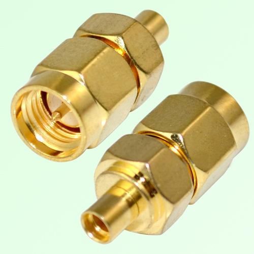 RF Adapter MMCX Female Jack to SMA Male Plug