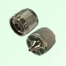 RF Adapter MMCX Male Plug to N Male Plug