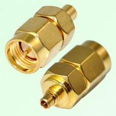 RF Adapter MMCX Male Plug to SMA Male Plug