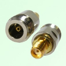 RF Adapter N Female Jack to SMA Female Jack