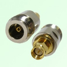 RF Adapter N Female Jack to SMA Male Plug