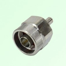 RF Adapter N Male Plug to QMA Female Jack