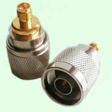 RF Adapter N Male Plug to RP SMA Female Jack