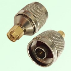 RF Adapter N Male Plug to SMA Male Plug