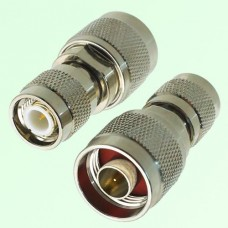 RF Adapter N Male Plug to TNC Male Plug