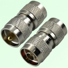 RF Adapter N Male Plug to UHF PL259 Male Plug