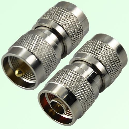 RF Adapter N Male Plug to UHF PL259 Male Plug