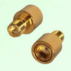 12G RP SMA Female Jack to RP SMA Male Quick Push-on RF Adapter