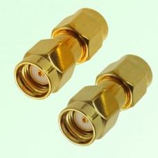 RF Adapter RP SMA Male Plug to RP SMA Male Plug
