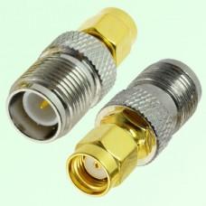 RF Adapter RP SMA Male Plug to RP TNC Female Jack