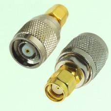RF Adapter RP SMA Male Plug to RP TNC Male Plug