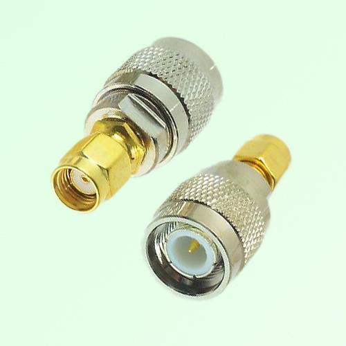 RF Adapter RP SMA Male Plug to TNC Male Plug