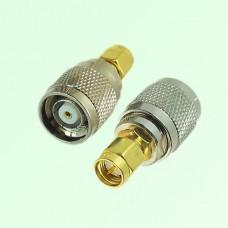 RF Adapter RP TNC Male Plug to SMA Male Plug
