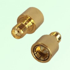 12G SMA Female Jack to SMA Male Quick Push-on RF Adapter