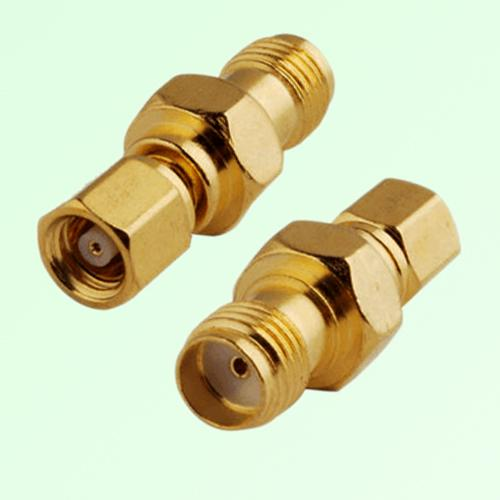 RF Adapter SMA Female Jack to SMC Female Jack