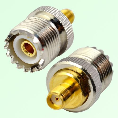 RF Adapter SMA Female Jack to UHF SO239 Female Jack