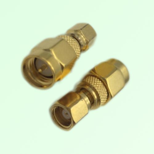 RF Adapter SMA Male Plug to SMC Female Jack