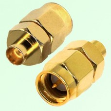 RF Adapter SMA Male Plug to SMP Male Plug