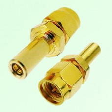 RF Adapter SMA Male Plug to SSMB Female Jack