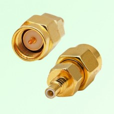 RF Adapter SMA Male Plug to SSMC Male Plug