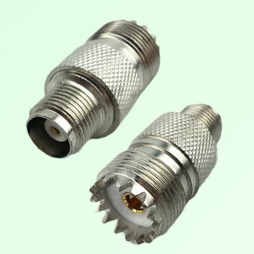 RF Adapter TNC Female Jack to UHF SO239 Female Jack