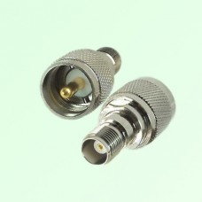 RF Adapter TNC Female Jack to UHF PL259 Male Plug