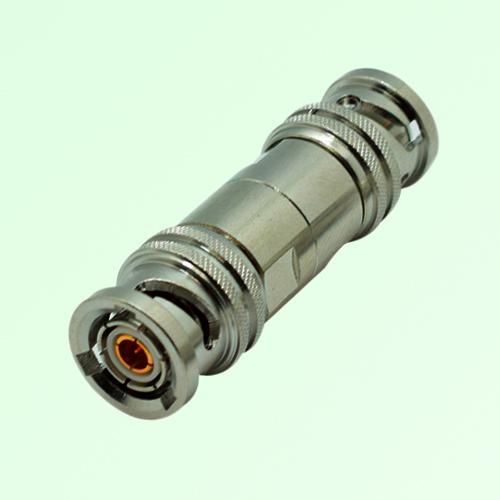 RF Adapter TRB 3 Lugs Male Plug to TRB 3 Lugs Male Plug