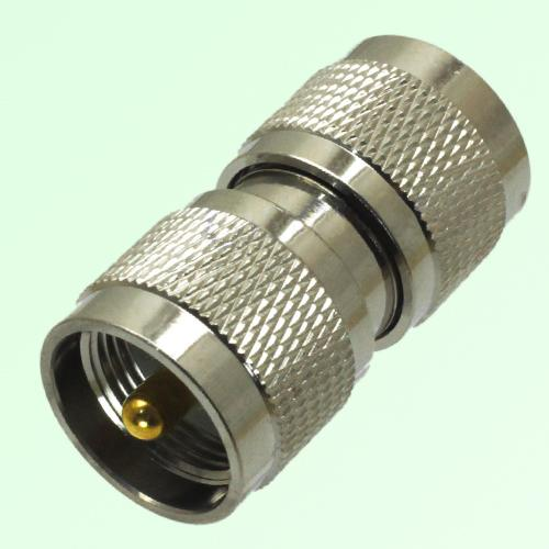 RF Adapter UHF PL259 Male Plug to UHF PL259 Male Plug