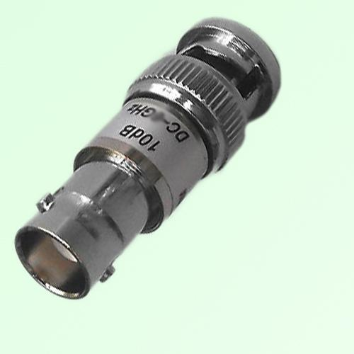 BNC Attenuator BNC Female Jack to Male Plug 2W DC-6GHz 1-40dB
