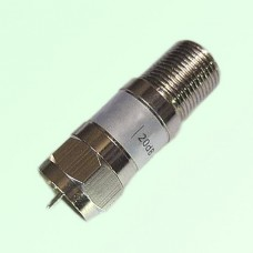 F Attenuator F Female Jack to Male Plug 2W DC-3GHz 1-40dB