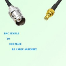 BNC Female to SMB Male RF Cable Assembly